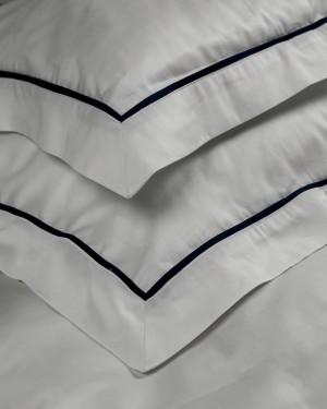 Decorate білий (синій кант)