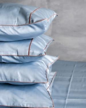 Line пильно-блакитний (персиковий кант)
